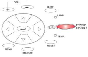 Optoma_EP_615H_reset_Lamp_BL-FU150A