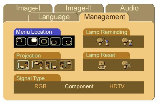 Optoma_H50_reset_lamp_timer_BLFU200A