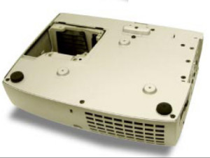 Optoma_H56_BL-FU250A_installing_lamp