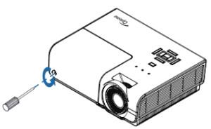 Optoma_TH1060P_projector_Optoma_BL-FS300C _Remove_lamp_cover