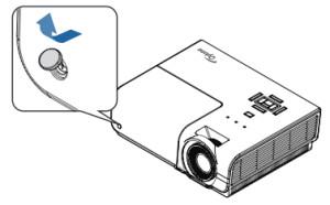 Optoma_TH1060P_projector_Optoma_BL-FS300C _remove_lamp_cover_button