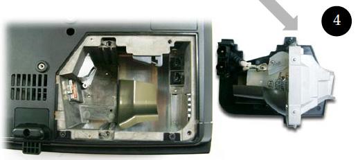 Optoma_TS400_insert_BL-FU180A_new_projector_lamp