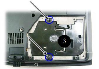 Optoma_TS400_remove_lamp_screws_BL-FU180A_projector_lamp