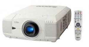 Sanyo PLC-UF10 projector, Sanyo POA-LMP42 610 292 4831