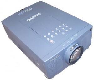 Sanyo PLC-XP07B Projector, Sanyo POA-LMP18 (service parts no 610 279 5417)
