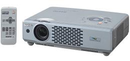 Sanyo PLC-XU48 projector, Sanyo POA-LMP55 service part no 610 309 2706