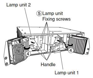 Panasonic-PT-DW5000U_Lamp_Unit_2_ET-LAD55_projector_lamp_installation