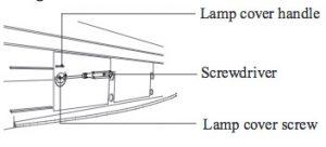 Panasonic_PT-50LC14_replacement_lamp_remove_Panasonic-TY-LA1000-