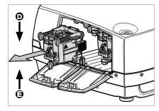 ProjectionDesign-F32_projector_install_replacement_ProjectionDesign_400-0500-00_projector_lamp