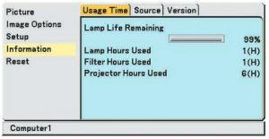 Projector_VT480_lamp_hour_NEC-VT85LP_projector_lamp