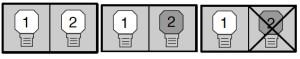 Proxima_Pro_AV_9500_SP-LAMP-004_projector_lamp_indicators