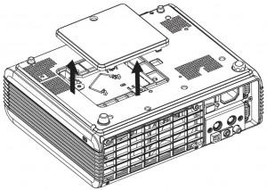 BenQ PB7220 Remove Projecto rCover, BenQ 60.J5016.CB1 lamp