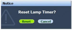 BenQ MP576 reset lamp timer, BenQ 5J.J0A05.001