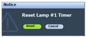BenQ SP930P reset lamp, BenQ 5J.J2D05.001