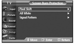 Samsung HP-R5052_screen_burn_protection_second_menu