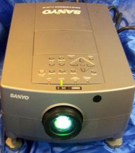 Sanyo PLC-5600N Projector, Sanyo POA-LMP14 (service parts no 610-265-8828)