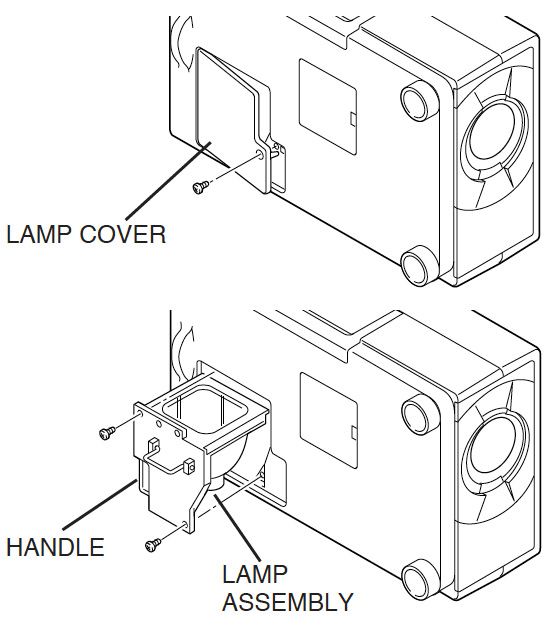 Sanyo_-PLC-SU10_projector_Sanyo_-LMP27_-610-273-6441_replace_projector_lamp