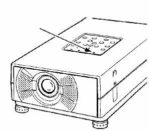 Sanyo_-PLC-SU10_projector_Sany_-LMP27_-610-273-6441_projector_lamp_warning