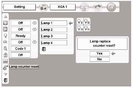 Sanyo_PLC-XF46_POA-LMP100_610-327-4928_reset_projector_lamp_timer