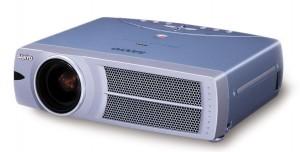 Sanyo PLC-XU31 projector, Sanyo POA-LMP35 service part no 610 293 2751