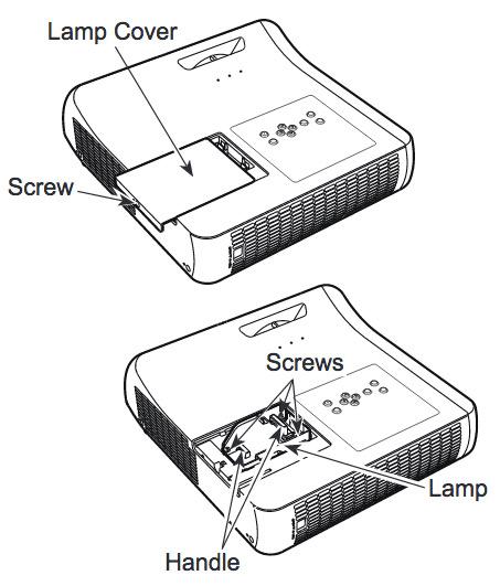 Sanyo_projector_PLC-WL2501_replace_Sanyo_POA-LMP_140_lamp