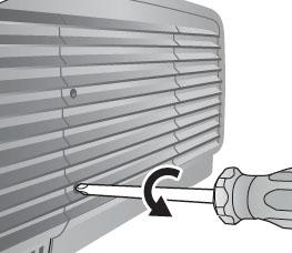 BenQ W6500 Screw out of lamp cover, BenQ 5J.J2605.001 lamp
