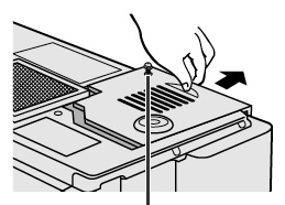 Sharp-XG-P10XU_Sharp-BQC-XGP10XU_projector_lamp_cover_remova