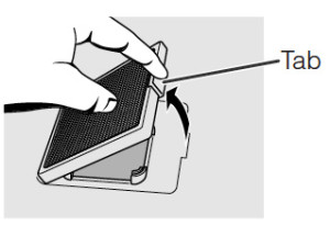 Sharp-XG-P10XU_Sharp-BQC-XGP10XU_projector_remove_air_dirty_filter