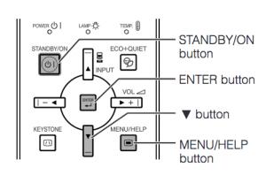 Sharp_PG-F200X_projector_Sharp AN-XR30LP-1_reset_lamp_timer