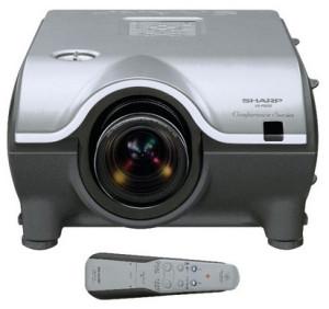 Sharp_XG-P20XD_projector_Sharp_BQC-XGP20X_projector_lamp_replacement