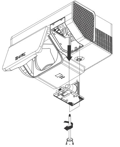 Smartboard_600i _projector_lamp_SmartBoard 50030764_replace