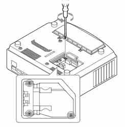 Sony_VPL-AW10_projector_Sony_LMP-H160_loosen_lamp_screws
