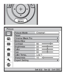 Sony_VPL-HW30ES_menu_