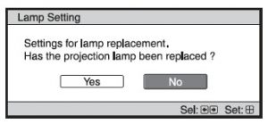 Sony_VPL-VW40_projector_LMP-H200_lamp_replacement_message