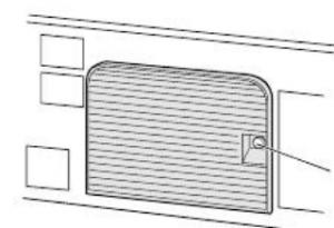 Toshiba_50HM66_projector_lamp_Y66-LMP_door_screw