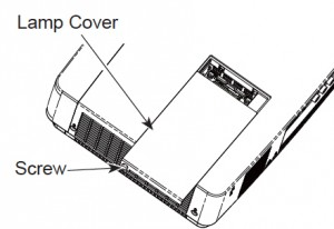 Sanyo PLC-XU350 Projector Lamp Cover, Sanyo POA-LMP131