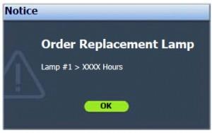 BenQ SP920P First Warning Lamp, BenQ 5J.J2D05.001 lamp