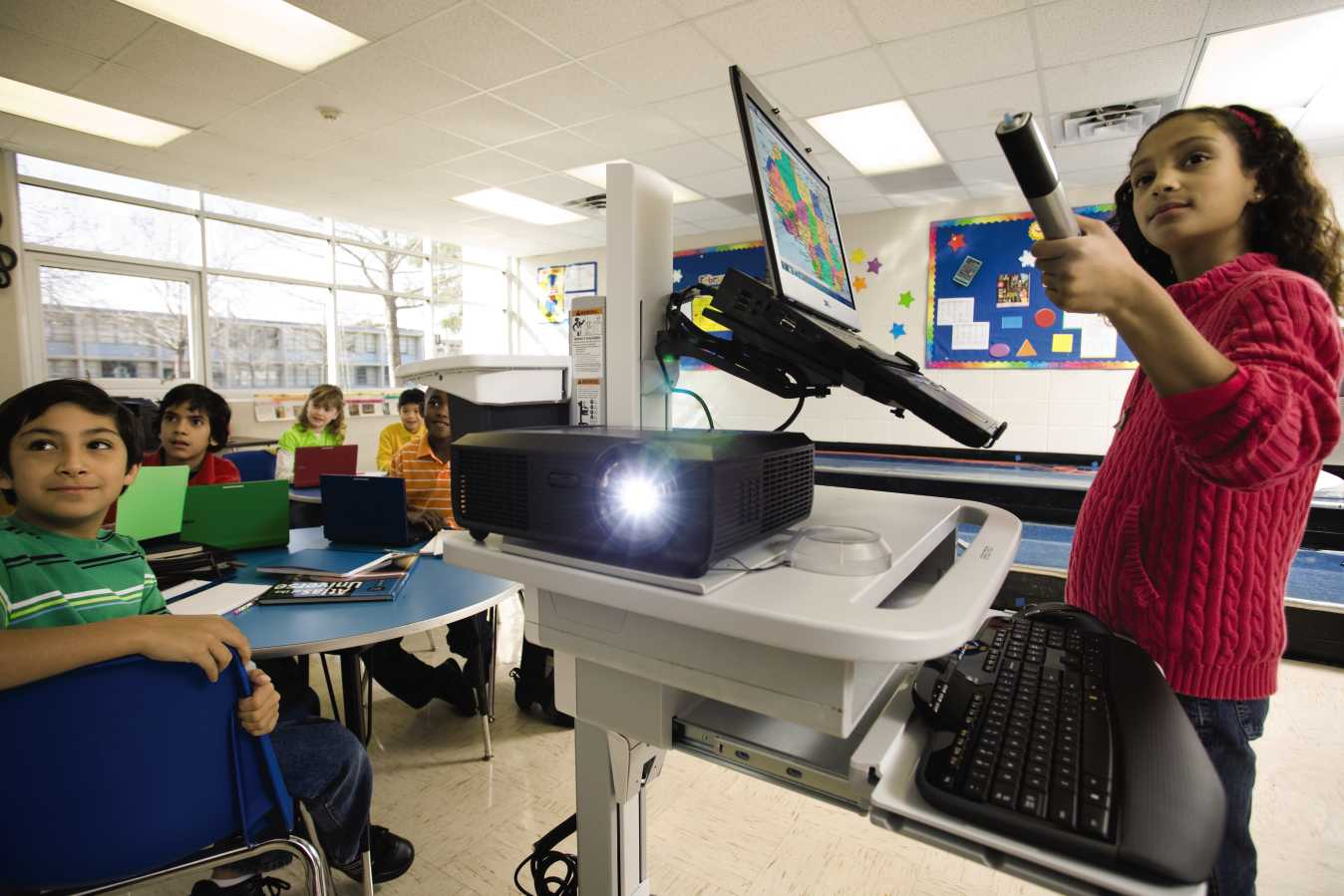 Keep A Healthy Classroom When Using A Projector