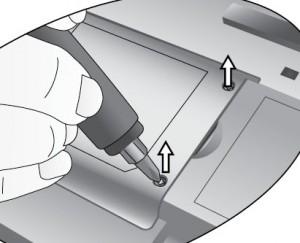 BenQ PB2250 screw lamp cover, BenQ 59.J9301.CG1