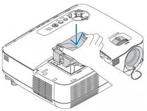 NEC NP 110 installing NEC NP13LP Projector Lamp