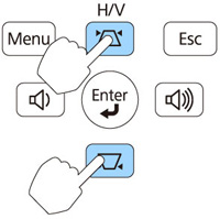 keystone_buttons_Epson_projector