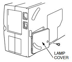 Sanyo PLC-XP17 Projector Lamp Cover, Sanyo POA-LMP24 (service part no 610 282 2755)