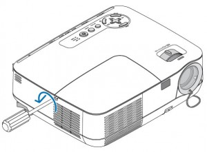 NEC NP110 lamp cover