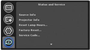 ASK Proxima A1100 lamp timer, ASK Proxima SP-LAMP-039