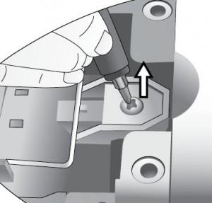 BenQ PB2250 removing lamp, BenQ 59.J9301.CG1