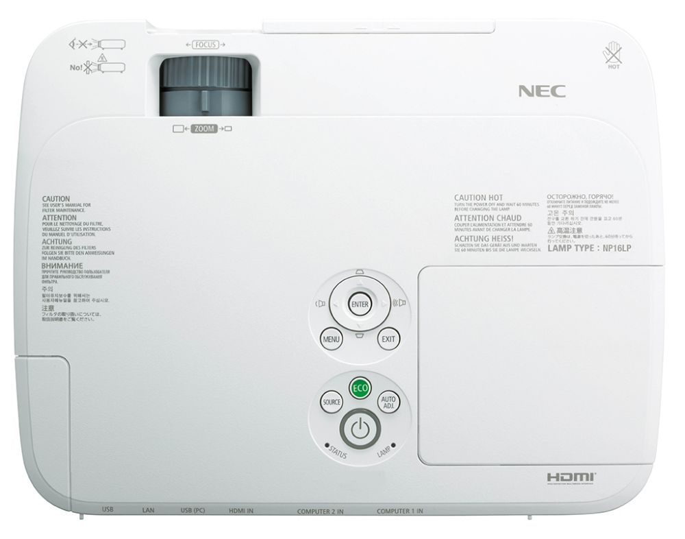 Nec Np M300w Projector Lamp