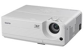Sanyo PDG-DSU20/DSU20N/DSU20E/DSU20B projector, POA-LMP118 (service part 610 337 1764)