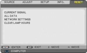 NEC NP 110 resetting NEC NP13LP Projector Lamp