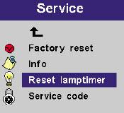 ASK Proxima C300HB service menu, ASK Proxima SP-LAMP-008_projector_lamp