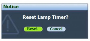 BenQ MP522 reset lamp timer, BenQ 9E.Y1301.001 lamp